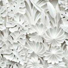 Гипсови палмови листа с 3D ефект - 10052