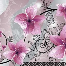 Фототапет тематичен дизайн на орхидеи - 1231