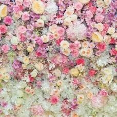 Фототапет стена от рози - 3102