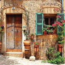Фототапет средиземноморски двор - 10388