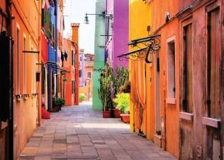 Фототапет цветни къщи - 10745