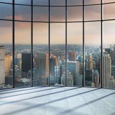 3D фототапет с изглед към Ню Йорк Сити - 1510