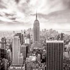 Черно-бял фототапет Ню Йорк - 2318