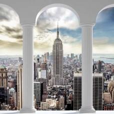 3D фототапет с Ню Йорк Сити за хол - 2345