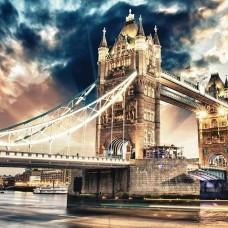 Фототапет Лондонският мост през нощта - 846