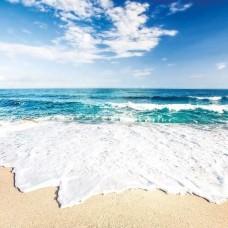Фототапет искрящи вълни на плажа - 10218