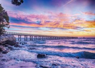 Фототапет залез на плажа - 10514
