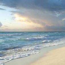 Фототапет бурно море и облачно небе - 13037