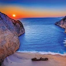 Фототапет залез край океана - 13047
