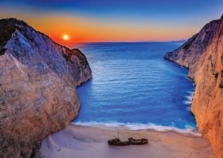 Фототапет залез над Закинтос Гърция - 13047