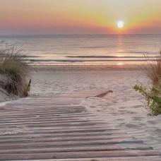 Фототапет залез на плажа - 13048