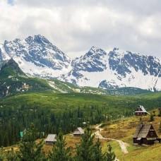 Фототапет бяла планинска верига - 10507