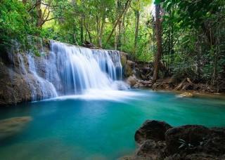 Фототапет горски водопад - 11893