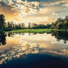 Фототапет горски отражения в езерото - 12024