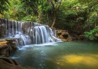 Фототапет водопад в гората - 12114