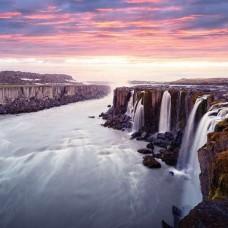 Фототапет панорама с водопади - 12659
