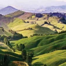 Фототапет зелен пейзаж - 13459