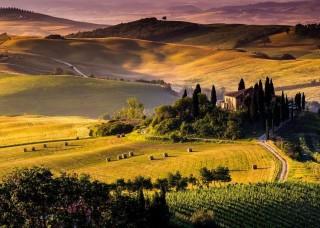 Фототапет есен в Тоскана - 169