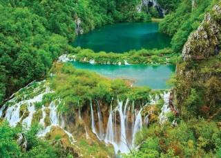Фототапет плитвички езера, Хърватия - 3601