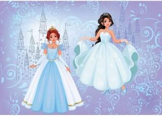 Фототапет принцеси в синьо - 12527