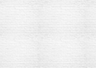 Фототапет бяла тухлена стена - 1782