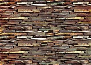 Фототапет имитация на стена от естествен камък - 1537