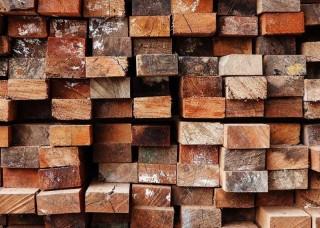 Фототапет дървени греди - 13043