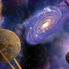 Фототапет с планени и космос - 309